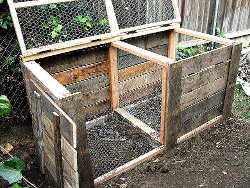 Compost Bin for making organic fertilizer