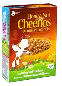 Cherrios con abeja perdida