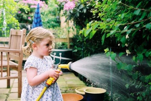 ¿Con qué frecuencia debe regar el jardín?